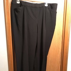 Lane Bryant business casual bootcut fit pants.